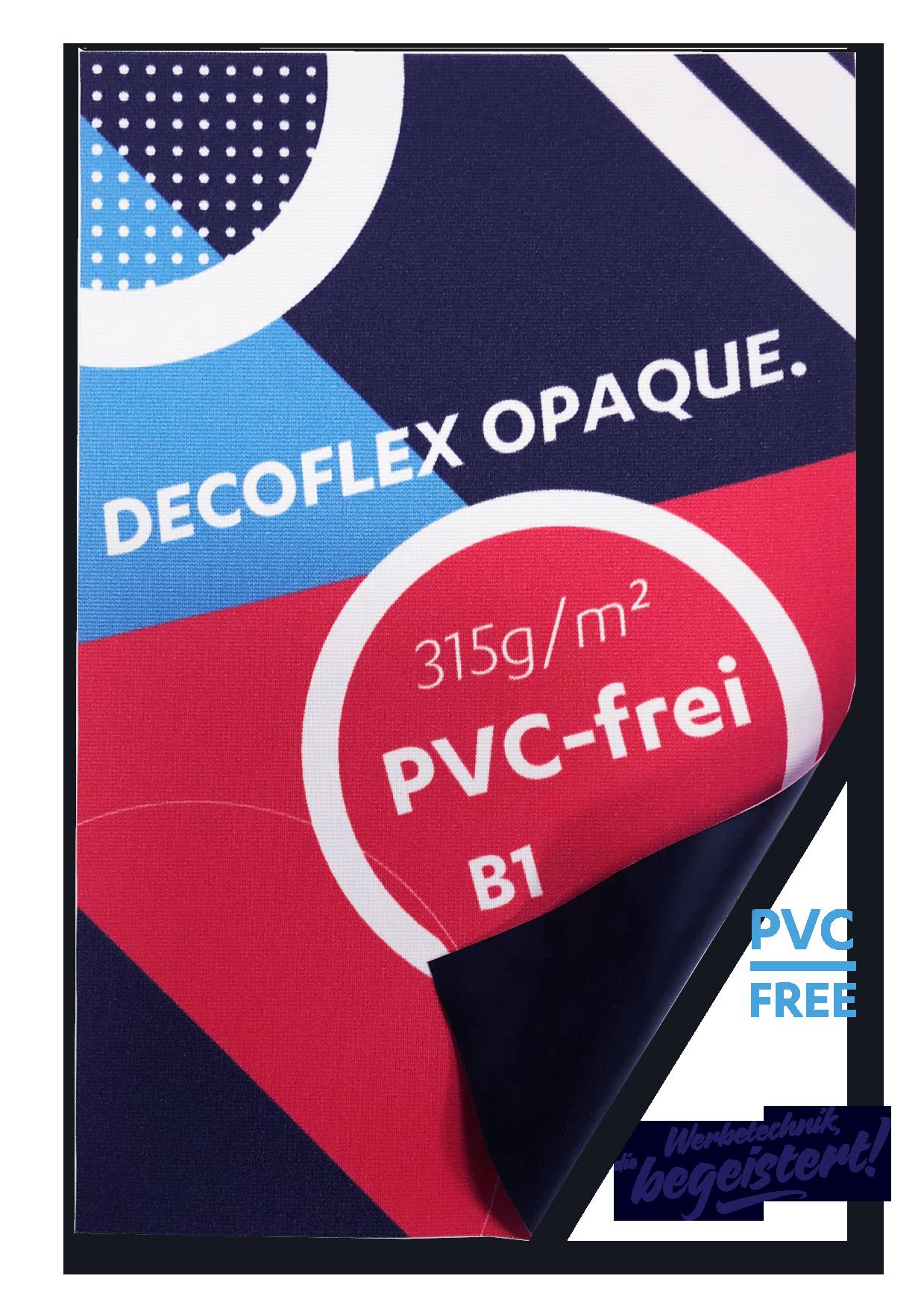 Decoflex-Opaque UV-Print blickdicht, B1, geschnitten Preis pro qm/ab 100 qm