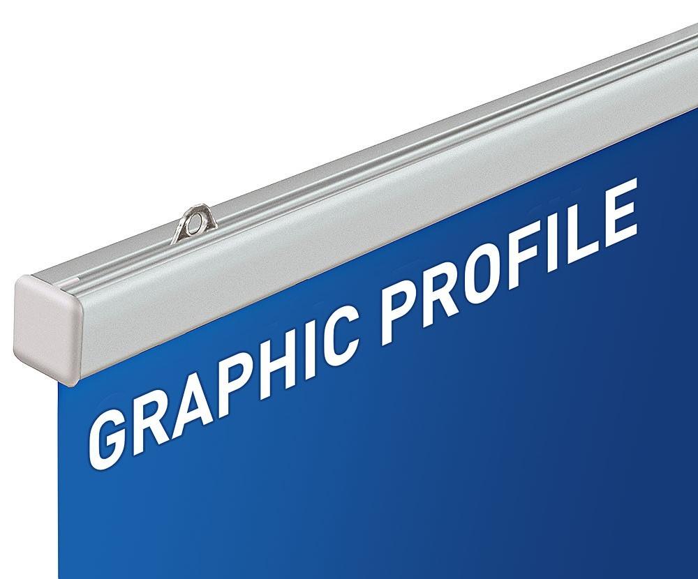 Graphic Profile 2m, mit Druck