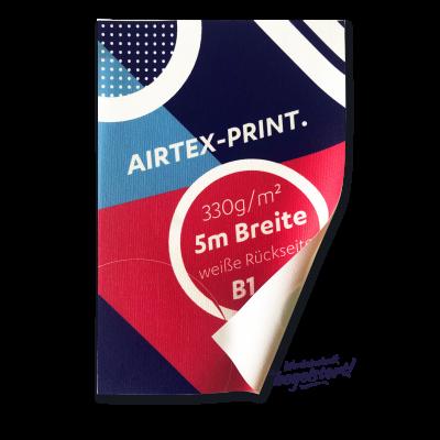 Airtex Print, B1, geschnitten Preis pro qm/ab 100 qm