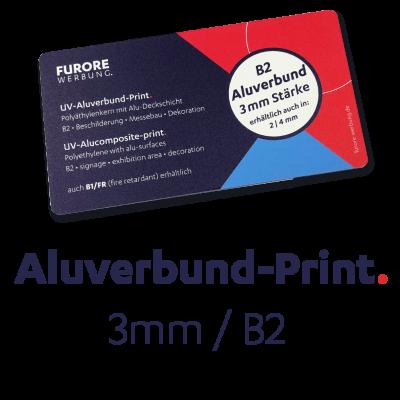 UV-Aluverbund-Print 3mm • Preis pro qm/ab 100 qm • kleinere Mengen siehe Preisstaffel