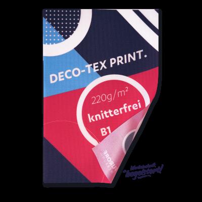 Deco-Tex UV-Print, B1, geschnitten Preis pro qm/ab 100 qm