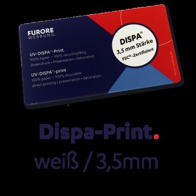 UV-DISPA Print 3,5mm • Preis pro qm/ab 100 qm • kleinere Mengen siehe Preisstaffel