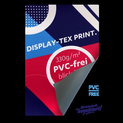 Displaytex UV-Print blickdicht, PVC-frei-B1, geschnitten Preis pro qm/ab 100 qm