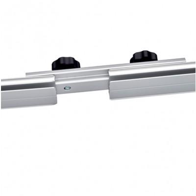 Verbinder 4er-Set für Halteleisten oben/unten Fabric-System Expolinc (6512)