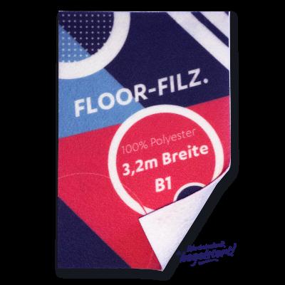 Floor-Filz-Print, B1, geschnitten Preis pro qm/ab 100 qm