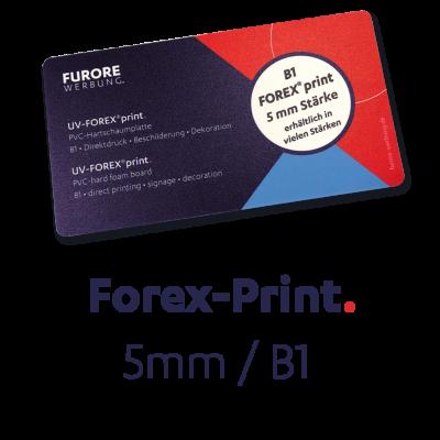 UV-Forex-Print 5mm • Preis pro qm/ab 100 qm • kleinere Mengen siehe Preisstaffel